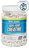Body Attack 100% Pure Creatine Capsules, 600 Kapseln, 1er Pack (1 x 552g)