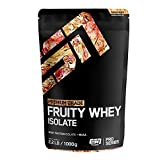 ESN Fruity Whey Isolate – 1000g – Tropical Punch – Fruchtiges Proteinpulver reich an EAAs und BCAAs – praktisch laktose- & fettfrei – 33 Portionen – Made in Germany
