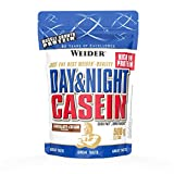 Weider, Day & Night Casein Protein, Schoko-Sahne, 1er Pack (1x 500 g)