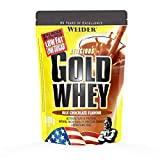 WEIDER Gold Whey Protein Schoko, Low Carb, Eiweißpulver für Fitness und Bodybuilding, 500g