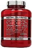 Scitec Nutrition Protein 100% Whey Protein Professional, Vanille mit wenig Zucker, 2350g