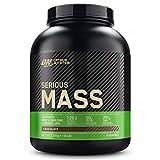 Optimum Nutrition ON Serious Mass Hochkalorisches Weight Gainer Protein Pulver, Whey Protein, Vitamine, Kreatin und Glutamin, Chocolate, 8 Portionen, 2.73kg, Verpackung kann Variieren