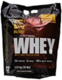 Mutant Whey - Chocolate - 4540g, 1er Pack (1 x 4.54 kg)